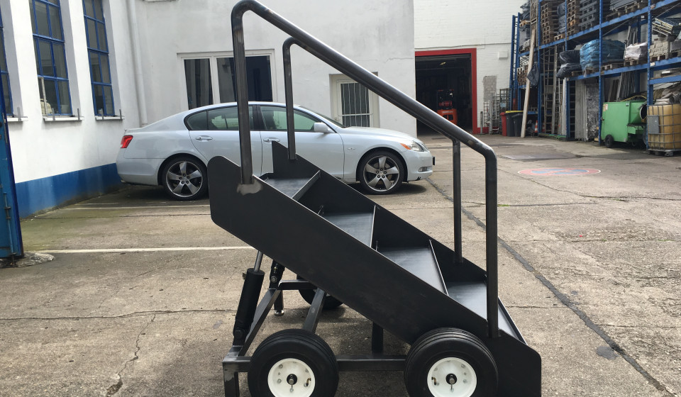 Miniatur-Fahrtreppe