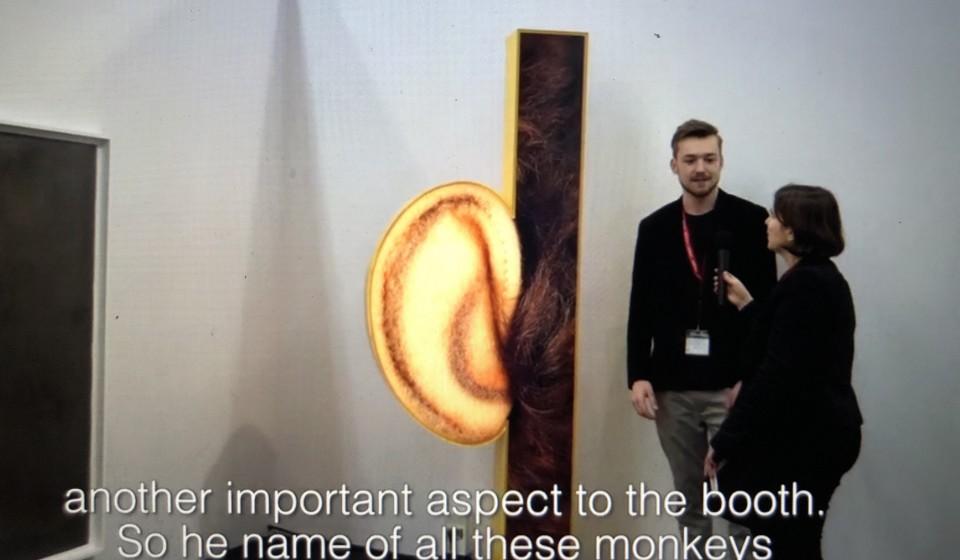 Ohr-Skulptur für Philip Emde