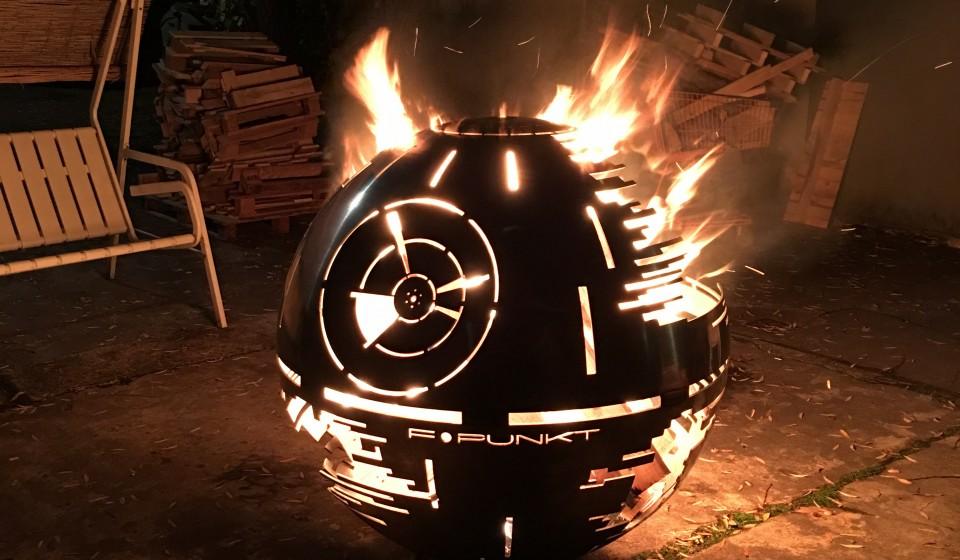 Todesstern Feuerschale